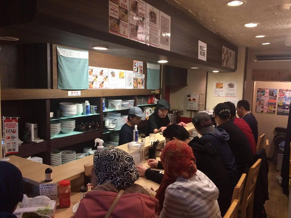 麺屋帆のる(関西ムスリムインバウンド推進協議会)